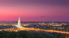 Beautiful Panorama Of Belgrade...