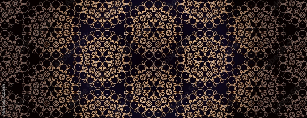 pattern ethnic style background. Vintage decorative texture for wallpapers, backgrounds and page fill. Indian, arabic motive.