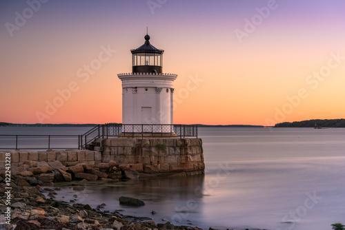 Photo Stands Lighthouse Portland Breakwater Light