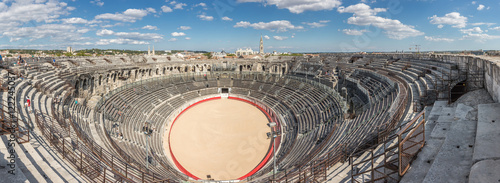 Fotografie, Tablou  Römische Stierkampf Arena in Nîmes