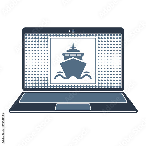 Fototapety, obrazy: set ship gadget