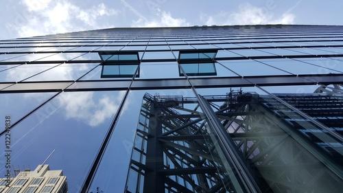Obraz Szklany budynek - fototapety do salonu