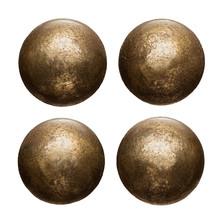 Old Metal Rivet Heads