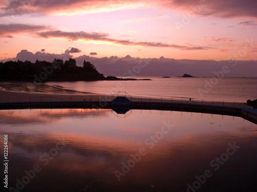 Fényképezés  Bretagne, Coucher de soleil