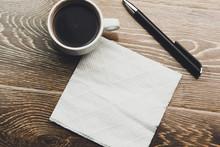 Coffee With Napkin