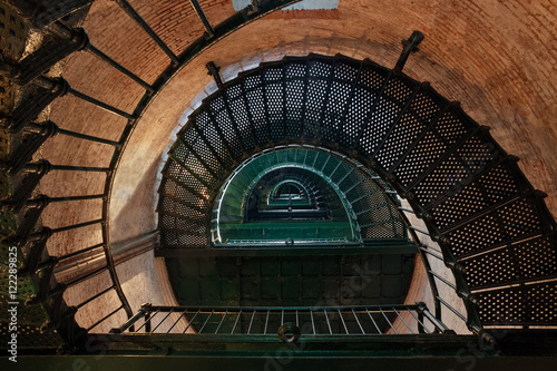 Inside Currituck Beach Lighthouse - Carolla, North Carolina