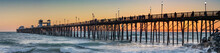 Oceanside Pier At Sunset