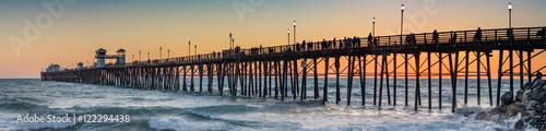 Photo Oceanside Pier at Sunset