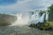 View point of Iguazu falls, Argentina