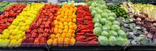 Supermarket Vegetables Showcas...