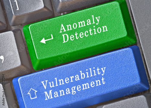 Photo hot keys for  Anomaly Detection and vulnerability management