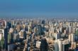 City office building skyline, Bangkok cityscape downtown, Thailand