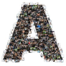 A Letter Photomosaic From Business Oriented Photos