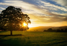 Setting Sun Yorkshire