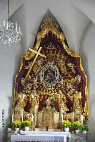 Fotografie, Obraz  Chapel in Kufstein
