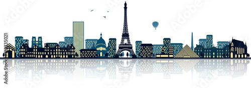 Photo  Paris Skyline