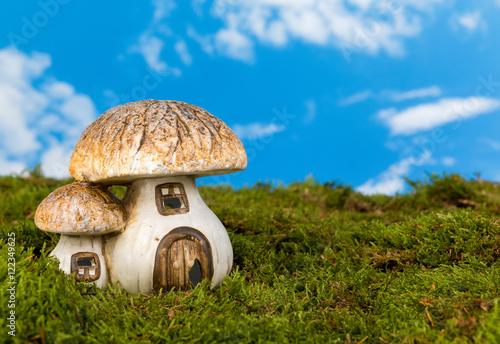 Fotografie, Obraz  Miniature gnome house