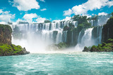The amazing Iguazu waterfalls in Brazil