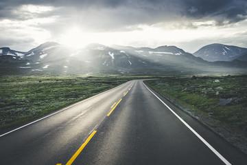 Spectacular Norwegian road