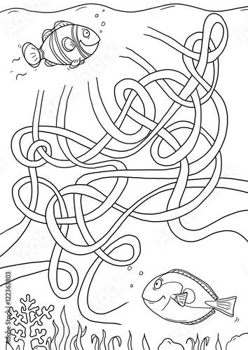 rätsel für kinder 6 jahre zum ausdrucken  Лабиринт Игра