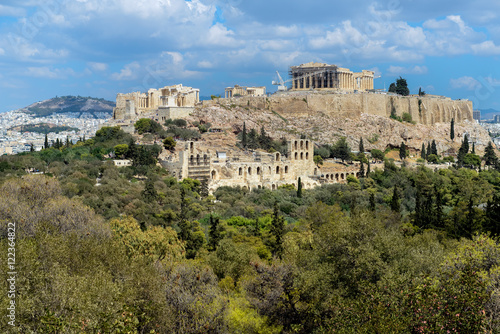 Poster Athens Acropolis of Athens, Greece