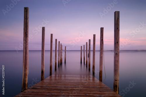 Fotografía  Pier Perspective Color