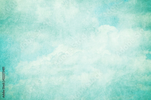Fototapety, obrazy: grunge retro sky abstract background