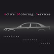 Auto service logo. Vector illustration.