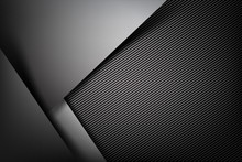 Abstract Background Dark With Carbon Fiber Texture Vector Illust