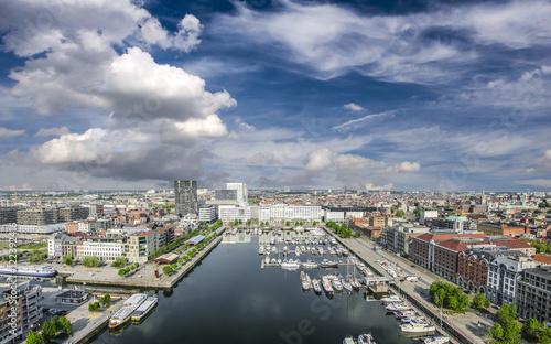 Foto op Plexiglas Antwerpen Antwerp from the bird's-eye view.