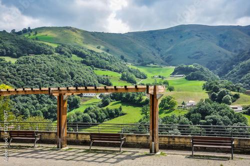 Pirineos españoles, Luzaide/Valcarlos, Navarra, España