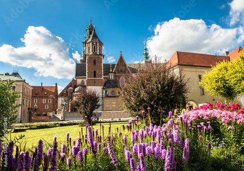 Obraz Katedra Wawelska w Krakowie - fototapety do salonu