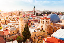 Old City Of Jerusalem With The...