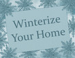 Winterize Your Home Card