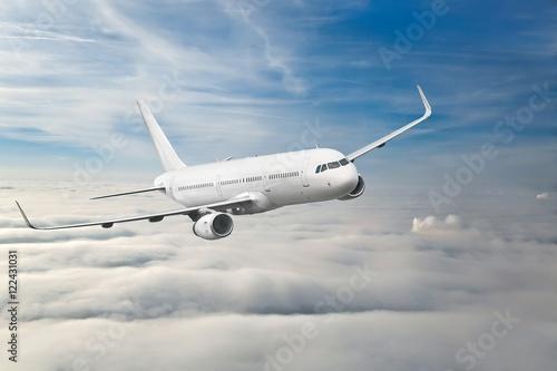 Fotomural Aviones de pasajeros en el aire