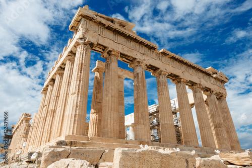 Fotobehang Athene Parthenon temple on the Acropolis, Athens, Greece