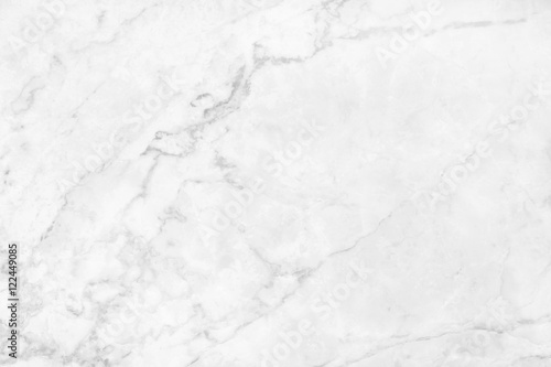 Poster Stenen white background marble wall texture