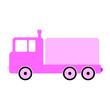 Cargo car symbol icon.