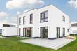 canvas print picture - Modernes Einfamilienhaus