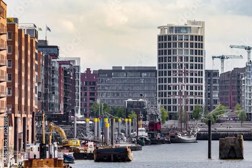Cadres-photo bureau New York Hamburger Hafencity