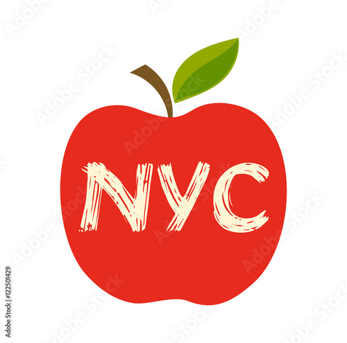 Fotografía Big apple vector