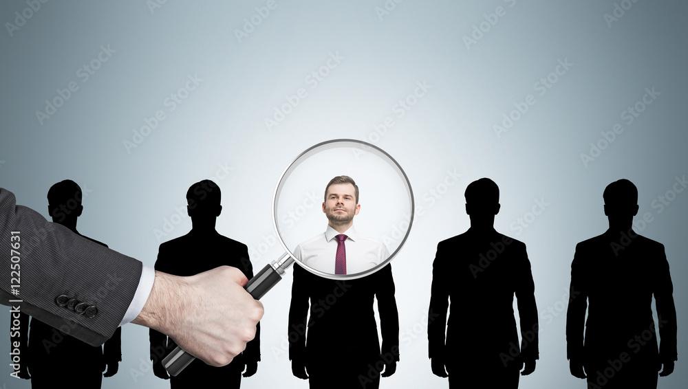 Fototapeta Recruitment process