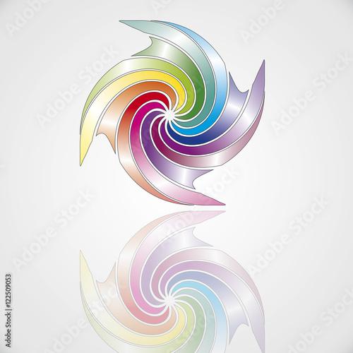 Foto op Plexiglas Spiraal Spirale 2