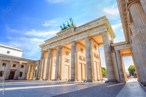 Poster Berlin Brandenburg gate of Berlin, Germany
