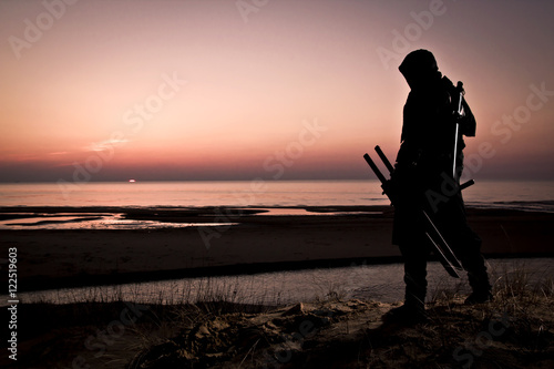 Photo  assassin at the sea