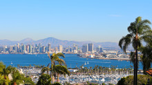 San Diego Harbor Skyline Panor...