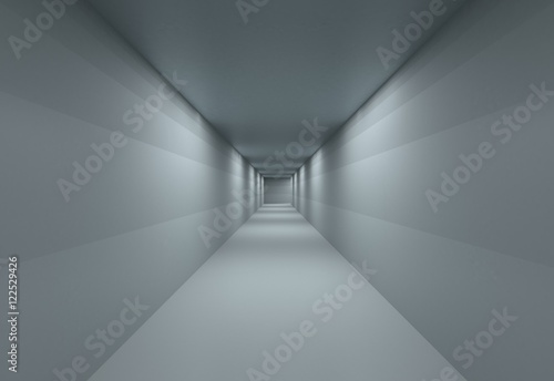 Fotografie, Tablou  sterile, empty Corridor