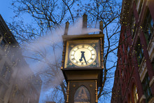 The Steam Clock, Gastown, Vancouver, British Columbia, Canada