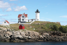 Nubble Lighthouse In Kittery Maine