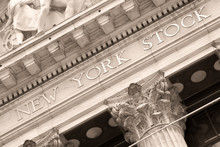 Detail Of The New York Stock E...